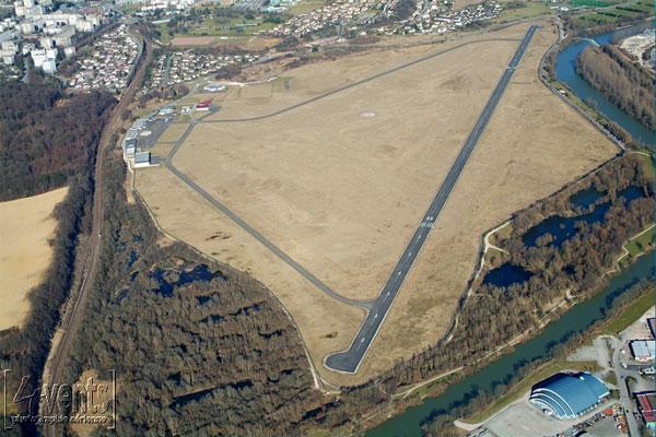 Vue aériennne Aérodrome PMA